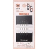 Self Threading Needles 5 Count with header